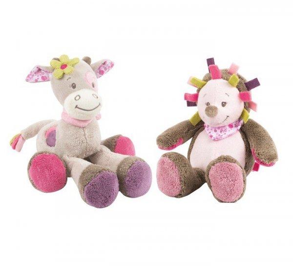 Nattou, kol. Manon & Alizee, mała przytulanka, krówka lub jeżyk