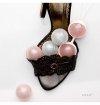 Kulki gejszy LELO - Luna Beads (jasnoróżowe/jasnoniebieskie)