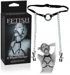 Ff Limited Edition O-Ring Gag and Nipple Clamps