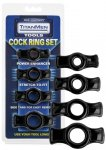 Titanmen Cockring Set Black