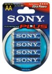 SONY BAT/ALK. BT 4PCS AA 12x4