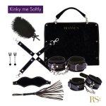 Rianne S Kinky Me Softly - zestaw BDSM (czarny)