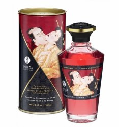Shunga - Aphrodisiac Oil Sparkling Strawberry Wine 100 ml