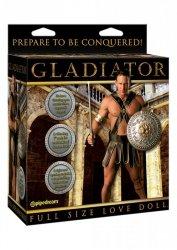 Gladiator Vibrating Doll