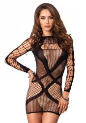 Multi Net Mini Dress