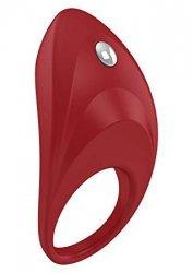Pierścień erekcyjny Ovo B7 Vibrating Ring Red