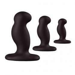 Nexus zestaw korków analnych - Anal Starter Kit (czarny)