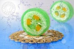 Mydło Lemongrass aromatherapy loofah 100g