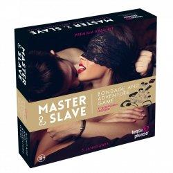 Tease&Please Master & Slave Bondage Game Beige - gra erotyczna władca i sługa (beżowy)