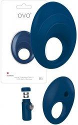 Pierścień erekcyjny Ovo B5 Blue