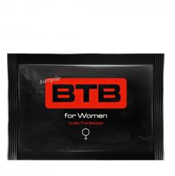 Feromony BTB próbka damska – chusteczka nawilżana 3ml