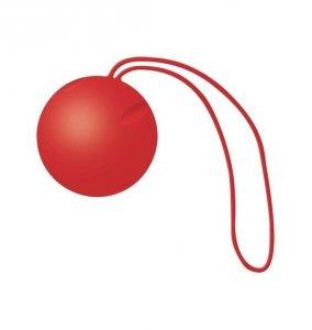 JoyDivision Joyballs Single - Kulki gejszy dla początkujących (kulki pojedyncze, czerwień)