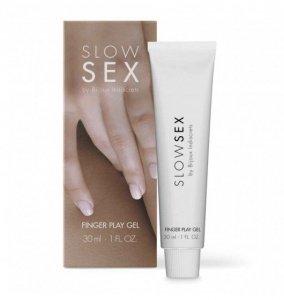 Bijoux Indiscrets Slow Sex Finger Play Gel - lubrykant do masturbacji na bazie wody
