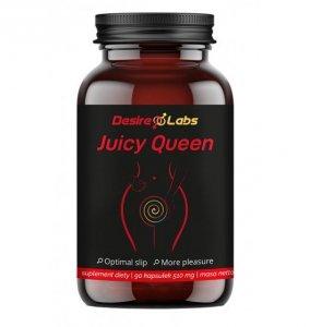 Desire Labs Juicy Queen 90 kapsułek na libido i suchość miejsc intymnych u kobiet