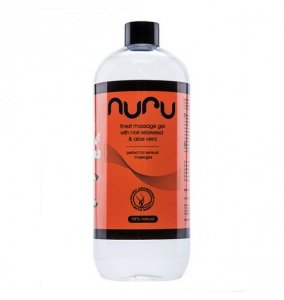 Nuru Massage Gel with Nori Seaweed & Aloe Vera 1000 ml - olejek do masażu nuru z aloesem