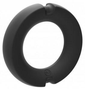 Kink Hybrid Silicone Covered Metal Cock Ring 50mm - pierścień erekcyjny