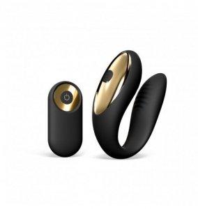 Dorcel Perfect Lover - wibrator dla par (czarny)