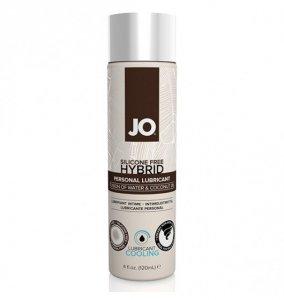 System JO Silicone Free Hybrid Lubricant Coconut Cooling 120 ml - chłodzący lubrykant hybrydowy