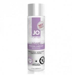 System JO For Her Agape Lubricant 120ml - lubrykant na bazie wody dla kobiet