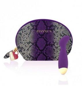 Rianne S Essentials Boa Mini G - Mini Wibrator (głęboki fiolet)