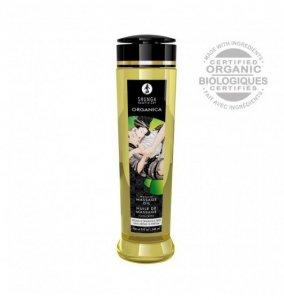 Shunga Natural Massage Oil Organica Aroma Free 240 ml - olejek do masażu (bezzapachowy)