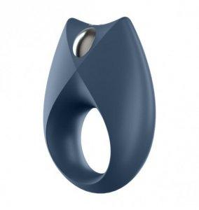 Satisfyer Royal One Ring incl. Bluetooth and App - pierścień wibrujący (granatowy)