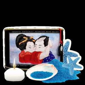 Shunga Ocean Breeze Oriental Crystals 600 g - sól do kąpieli z morza martwego (bryza morska)