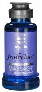 Swede Fruity Love Massage - owocowy żel do masażu 100 ml (jagoda)