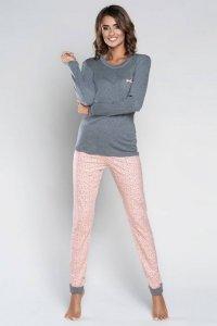 Italian Fashion Otylia piżama M (łososiowy)