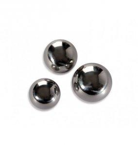 Kulki analne Titus Range Anal Ball upgrade 45mm (srebrne)