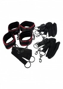SCANDAL BDSM BED RESTRAINTS - zestaw