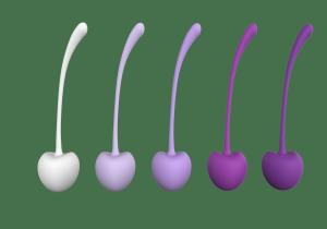 Dream Toys Pleasure Balls&Eggs Cherry Kegels - kulki gejszy
