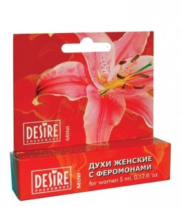 Desire for Women Mini 5ml perfumy z feromonami - damskie