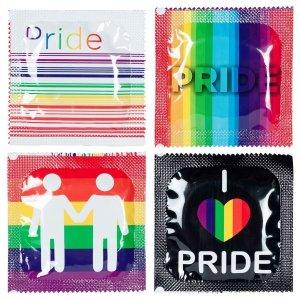 Pasante Pride Foils Bulk Pack - prezerwatywy (144 szt.)