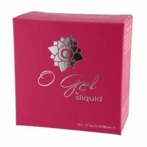 Sliquid Organics O Gel Cube 60 ml - zestaw żeli stymulujących w w saszetkach