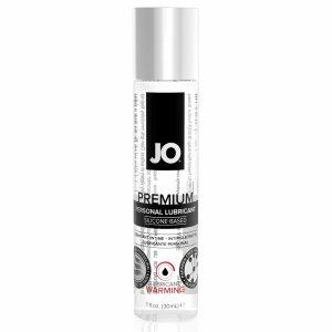 System JO Premium Silicone Lubricant Warming 30 ml - rozgrzewający lubrykant na bazie silikonu