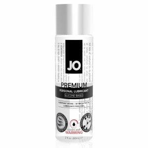 System JO Premium Silicone Lubricant Warming 60 ml - rozgrzewający lubrykant na bazie silikonu