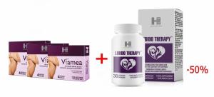 Letni zestaw dla Niej: 3x Viamea, Libido Therapy za 50%
