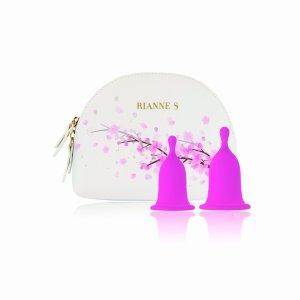 Rianne S Femcare Cherry Cup - zestaw kubeczków menstruacyjnych