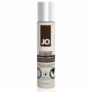 System JO Silicone Free Hybrid Lubricant Coconut Cooling 30 ml - chłodzący lubrykant hybrydowy