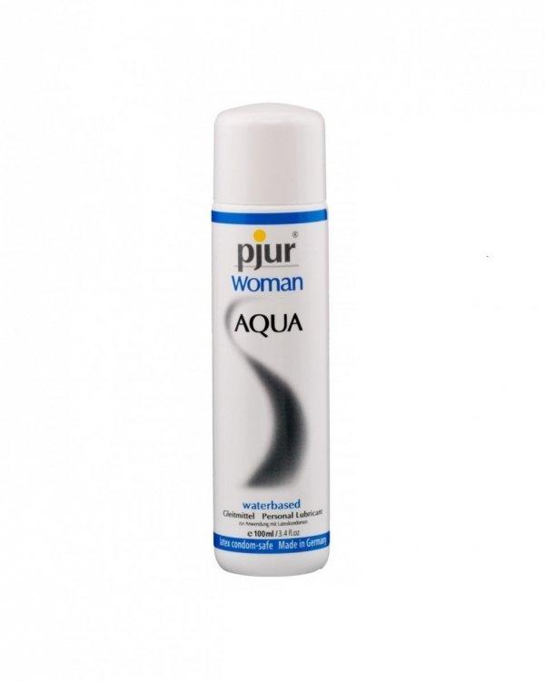 pjur Woman Aqua Bottle 100 ml - lubrykant na bazie wody