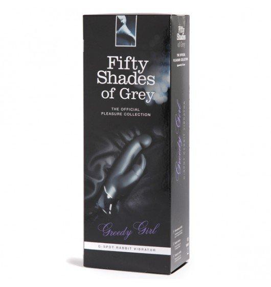 Wibrator-króliczek Fifty Shades of Grey - Greedy Girl