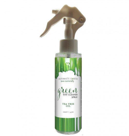 Intimate Earth Green Tea Toycleaner Spray 125ml antybakteryjny środek czyszczący
