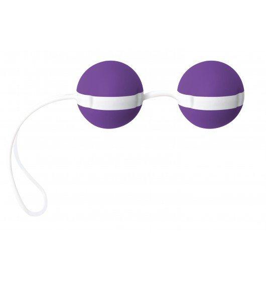 Kulki gejszy JoyDivision Joyballs Bicolored (fiolet/biel)