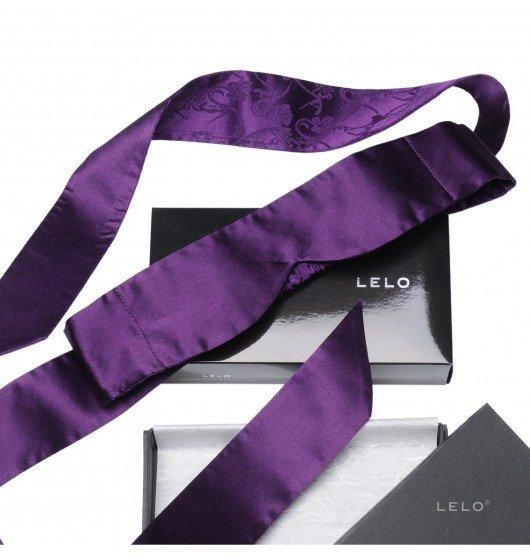 LELO - opaska na oczy Intima, fioletowa