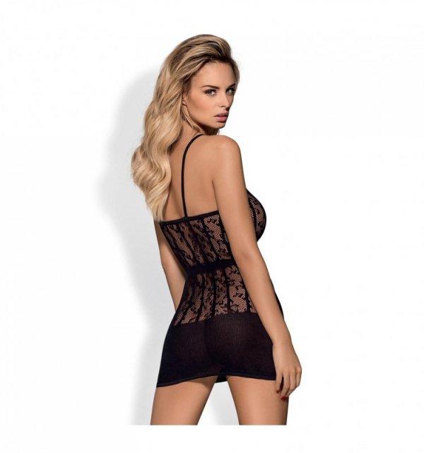 Obsessive D605 sukienka S/M/L (czarny)