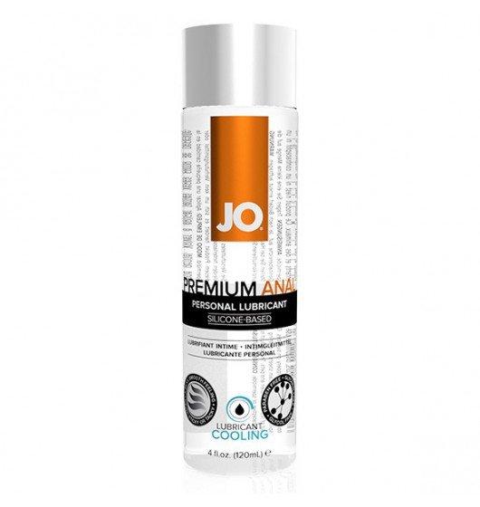 System JO Premium Anal Silicone Lubricant Cooling 120 ml - lubrykant analny na bazie silikonu