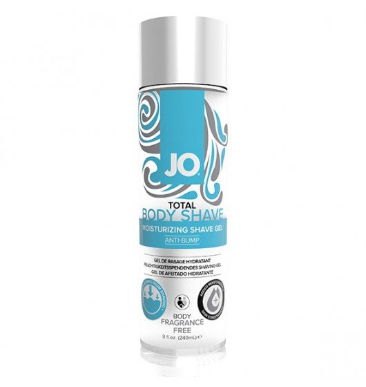System JO Total Body Shave Unscented 240ml - krem do depilacji