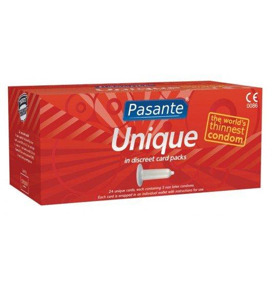 Prezerwatywy Pasante - Unique (1 op./ 72 szt.)