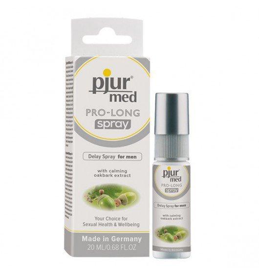 Preparat przedłużający stosunek dla mężczyzn pjur med PRO-LONG spray 20 ml
